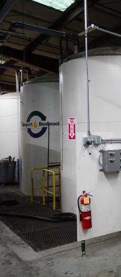 Newport Biodiesel facility
