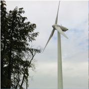 Charlemont MA wind turbine