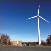 Worcester MA wind turbine